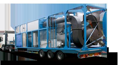 CRYOPERL® Mobile Plant